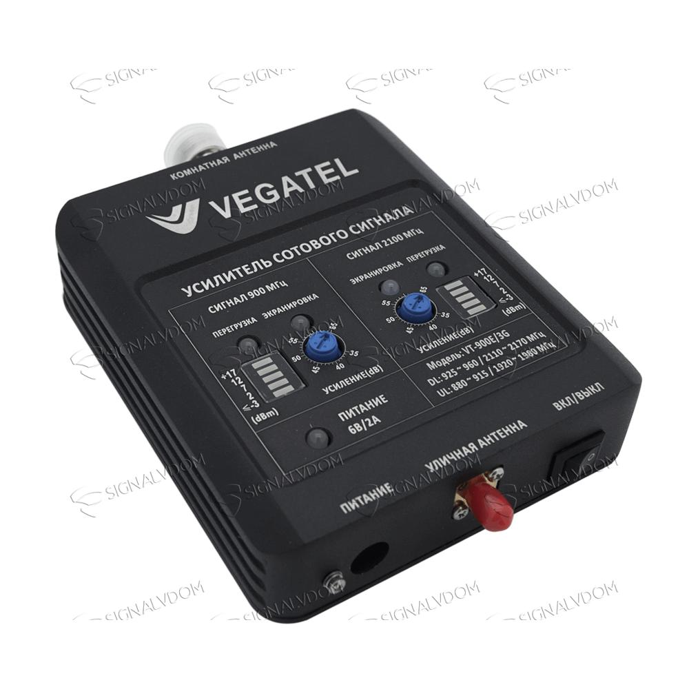 Усилитель сигнала VEGATEL VT-900E/3G (LED) комплект - 2