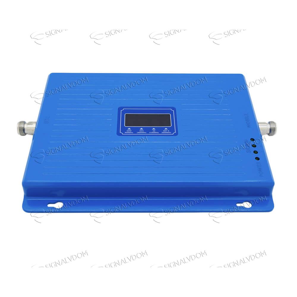 Усилитель сигнала Wingstel Premium 900/1800/2100/2600 MHz (для 2G/3G/4G) 65 dBi, кабель 15 м., комплект - 3